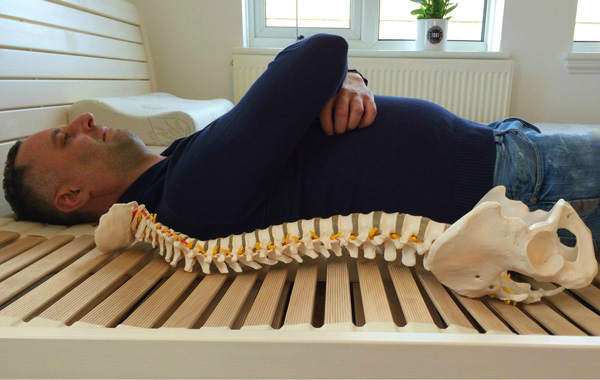 Click here to read about our BackCare Bed-System which provides perfect spine and lower back support
